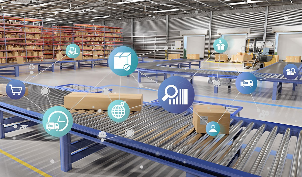 Automated parcel sorting logistics